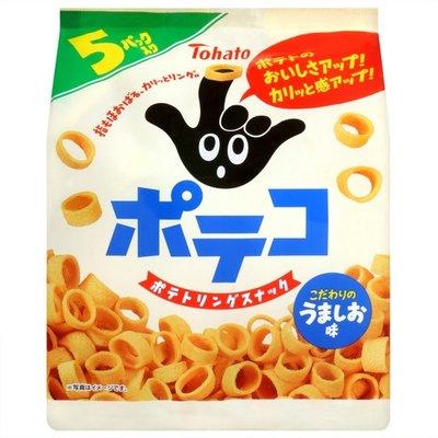 #悠西將# {現貨} 日本東鳩Tohato 手指洋蔥圈餅干 5入/袋 手指餅干 圈圈餅干 洋蔥圈餅干 洋蔥圈 手指圈圈