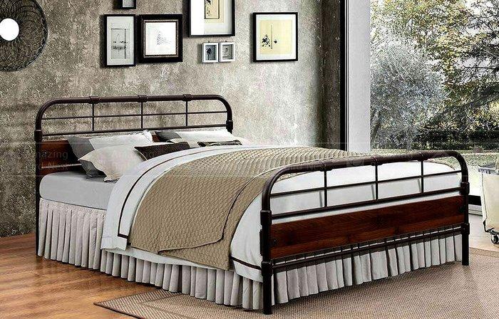 LOFT工業風鐵製床架