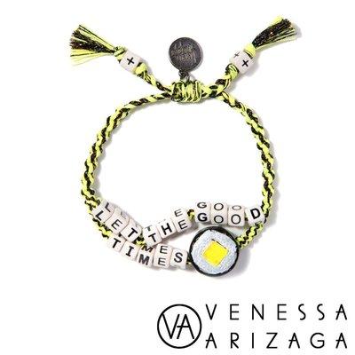 Venessa Arizaga LET THE GOOD TIMES ROLL 黃X黑手鍊