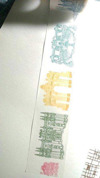 【R的雜貨舖】紙膠帶分裝 東方凡爾賽祕境 圓明園 西洋樓建築園林 中西歐風