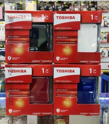 "TOSHIBA 1tb hard disk Canvio Advance V9 2.5"" 1TB USB3.0 外置硬碟 《全新行貨 - 3年保養》"