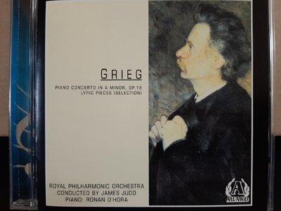 O'Hora,Judd,Royal Phi Orch,Grieg-P.c,Lyric Pieces,歐·霍拉鋼琴,賈德指揮皇家愛樂,葛利格-鋼琴協奏曲,抒情小品