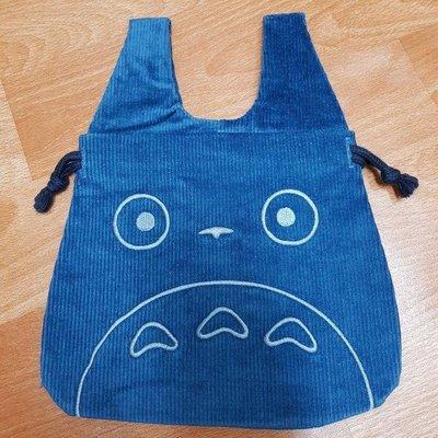 雜貨店_日本郵局限定-中號龍貓Totoro抽繩燈芯絨