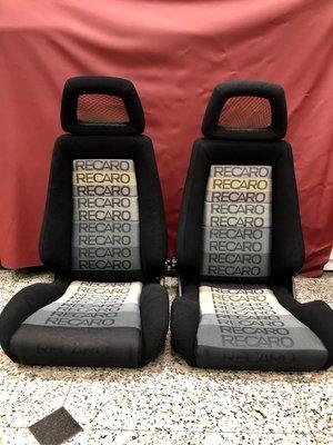 日本帶回正品 RECARO LX 中古整新可調賽車椅一對