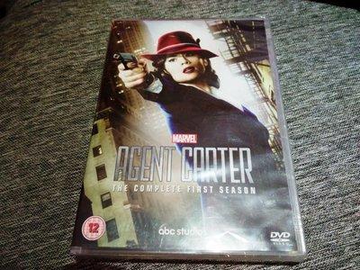毛毛小舖--正版DVD 卡特探員 第一季 Marvel's Agent Carter: Season 1