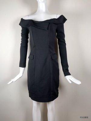 [我是寶琪] 全新未穿 LAVISH ALICE 黑色露肩洋裝