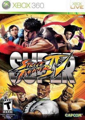 【二手遊戲】XBOX360 終極快打旋風 4 Super Street Fighter IV 日文 英文版 微刮傷 台中