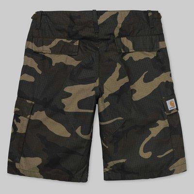 【紐約范特西】 Carhartt WIP Aviation SHORT 口袋工作短褲 I009758 迷彩