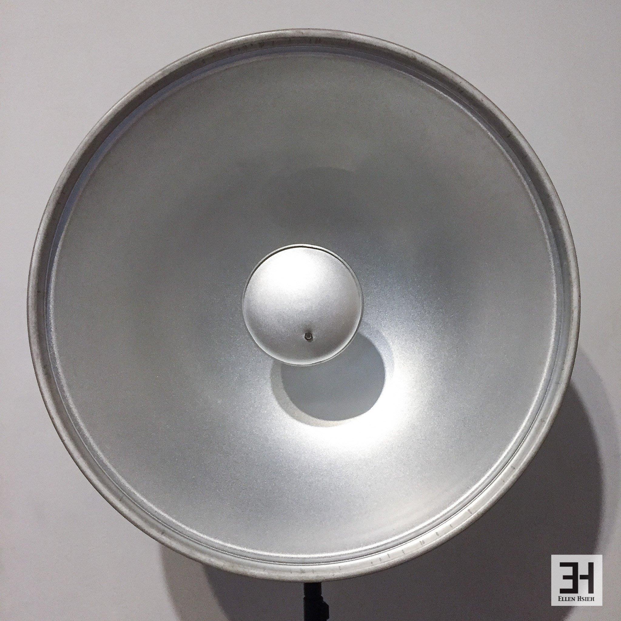 【出清】原廠 Elinchrom 70cm 銀色 雷達罩 美膚罩 反射罩 蜂巢 棚燈 攝影棚 人像 美妝 EL26167