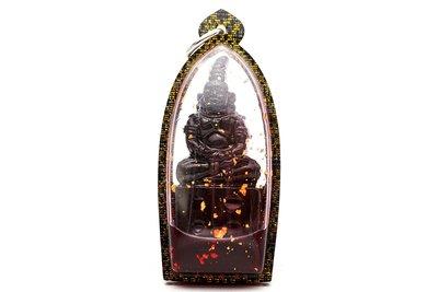 「還願佛牌」泰國 佛牌 阿贊靠 帕盎 帕嬰 避官司 桃花 財運 避險 黑