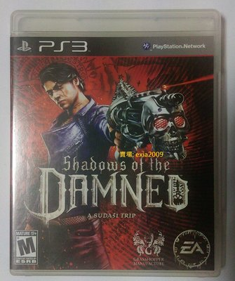 美國英文版 PS3 Shadows of the Damned 闇影罪罰 暗影詛咒 三上真司 二手