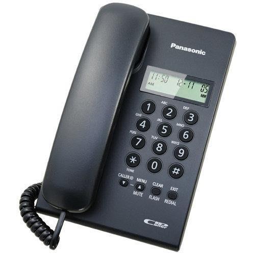 【通訊達人】靜音功能_免裝電池_Panasonic 國際牌 KX-TSC60 來電顯示電話機_黑色/(白色缺貨中)可選