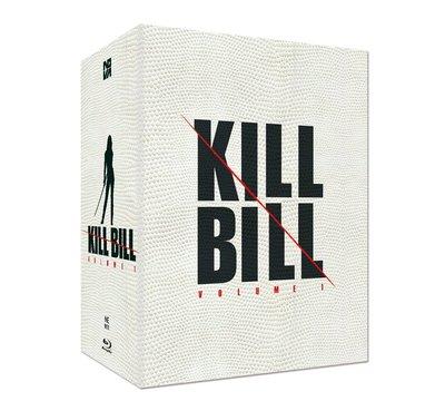 毛毛小舖--藍光BD 追殺比爾 KILL BILL 三合一限量鐵盒版(中文字幕) 昆汀塔倫提諾 烏瑪舒曼