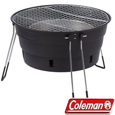 【山野賣客】Coleman CM-27319 黑 收納型Packway烤肉爐 烤肉箱 桌上型燒烤爐 BBQ烤肉架 串燒烤
