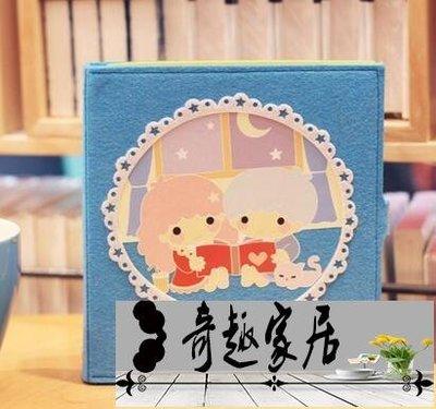 雙子星手帳活頁可愛兒童繪畫日記空白筆記手記本子 文具【奇趣百貨】