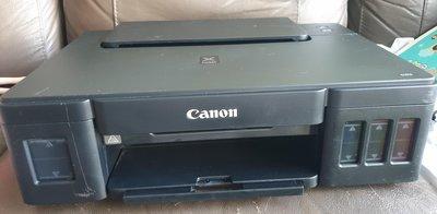 如新 CANON PIXMA G1010 原廠連續供墨 A4 後方進紙 噴墨印表機 原廠墨水