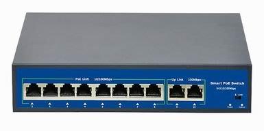 【AMY美美舖】poe交換機9口百兆48V監控網路攝影無線AP供電交換器