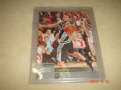 美國職籃 NBA Spurs Emanuel ( Manu )  Ginobili  2009-2010 UD 球員卡