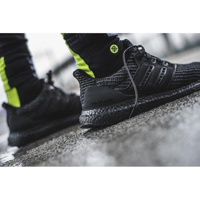 Adidas Ultra Boost 4.0  全黑色 黑魂 慢跑鞋 愛迪達 黑武士