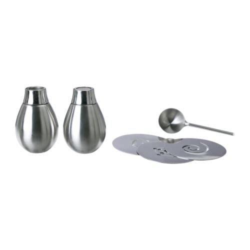 ☆創意生活精品☆IKEA BLOSSANDE 咖啡壺配件 6件組(不鏽鋼)