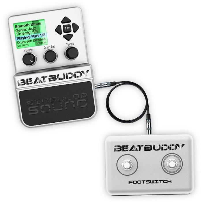☆ 唐尼樂器︵☆(公司貨兩年保固) BeatBuddy Singular 含外接踏板 擬真數位鼓機 MIDI 同步節奏機