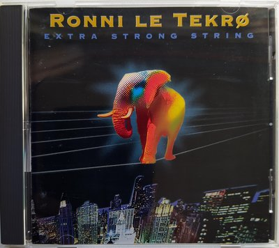 TNT吉他手 Ronni Le Tekro - Extra Strong String 二手日版