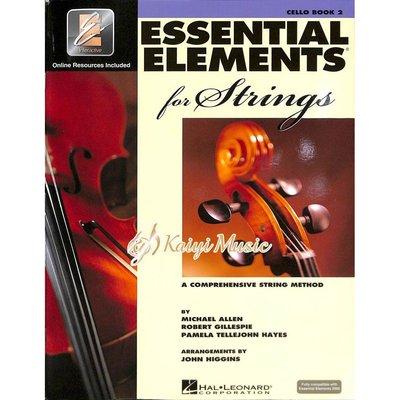 ♫Kaiyi Music♫ Essential Elements Cello Book 2 大提琴教材 樂譜