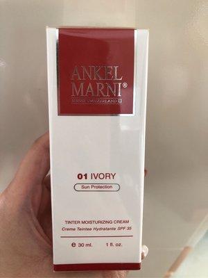 ANKEL MARNI有色防曬保濕面霜 tinter moisturizing cream 01色