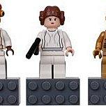 Lego 星際大戰 Star Wars C-3PO Princess Leia Admiral Ackbar