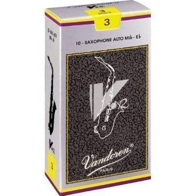 【非比藝術】【Vandoren V12 Alto Reeds 薩克斯風 中音 V12 銀盒 竹片 10片裝】