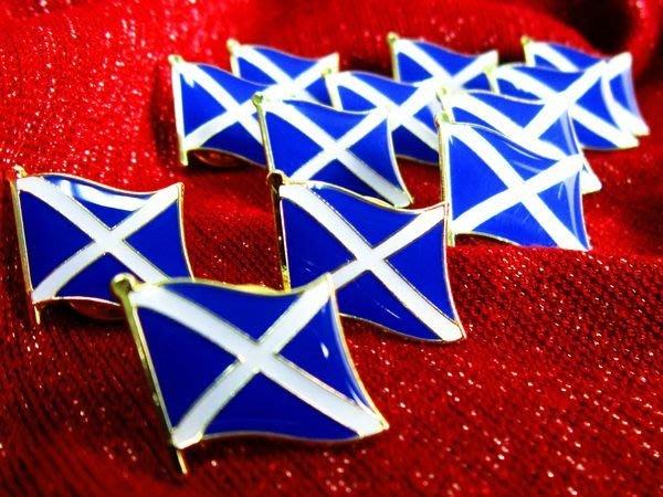 【國旗徽章達人】蘇格蘭國旗徽章/勳章/胸章/別針/胸針/Scotland/超過50國圖案可選