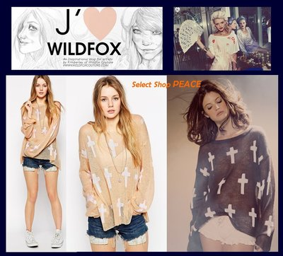 Wildfox Couture 美國【現貨】XS/S/M號 針織 T恤 Judgement Roadie