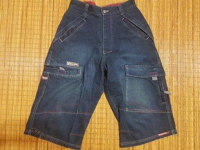 (抓抓二手服飾)  THRILLER  牛仔短褲   W30~31   @