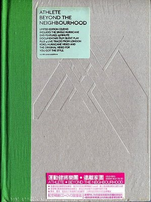 【嘟嘟音樂2】運動健將樂團 Athlete - 遠離家園  CD+DVD 限量版  (全新未拆封)