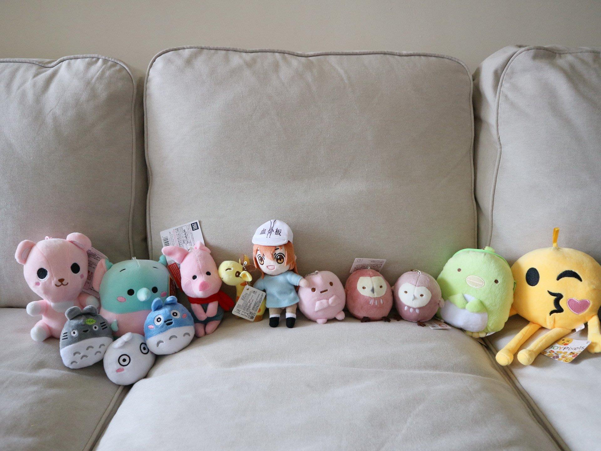 角落生物 MOMO熊 血小板娃娃 維尼熊小豬等娃娃 夾娃娃機商品 全新
