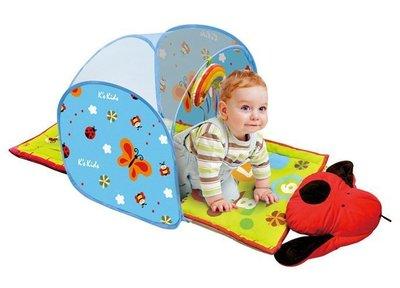 *╮叮噹玩具坊╭* 台灣麥克 k's kids 奇智奇思 Baby Crawl Tunnel 寶寶爬行隧道
