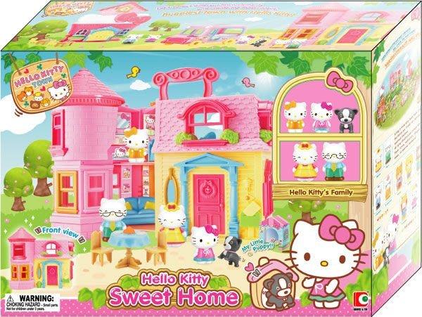 【W先生】Hello Kitty 凱蒂貓 凱蒂貓甜蜜的家 女孩 家家酒 玩具 扮家家酒 正版 三麗鷗
