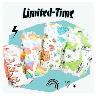 【美國預購】 The Honest Company環保 有機 無毒嬰兒尿布 ~2020夏季款~極限運動