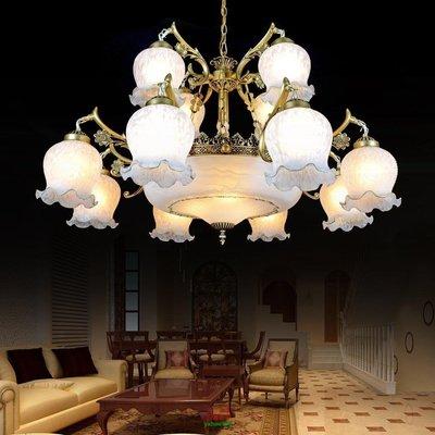 【美學】歐式鐵藝客廳吊燈美式復古臥室燈具現代簡約書房餐廳飯廳包郵MX_832