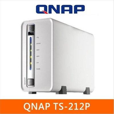 5Cgo【權宇】QNAP TS-212P網路儲存 支援HTTPS SSL / 免電腦 NZB eMule下載 含稅扣5%
