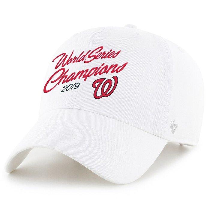 '47 Brand  Washington Nationals 2019 世界大賽冠軍國民隊棒球帽