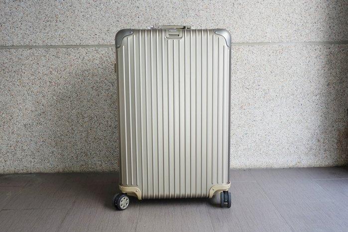 【台中青蘋果】RIMOWA Topas E-Tag 中大型四輪旅行箱 92473035 #44566