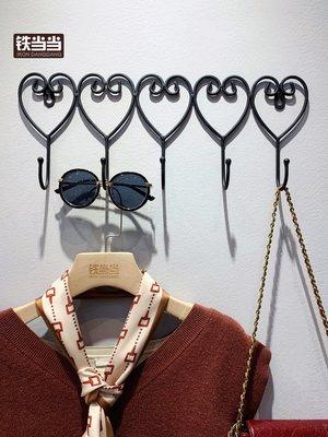 聚吉小屋女裝服裝店墻上掛鉤墻壁掛式衣架...