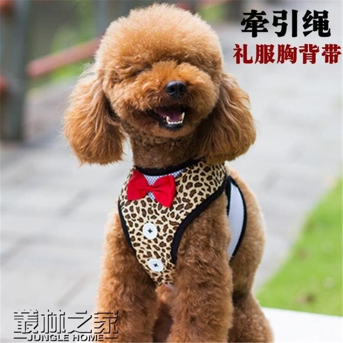 小狗狗子胸背帶牽引繩寵物用品 尚美優品