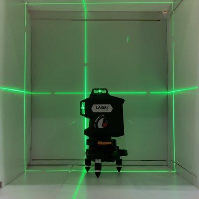 【宏盛測量儀器】萊賽LAISAI CFW-M3G墨線儀/水平儀 綠光 4V4H磨積