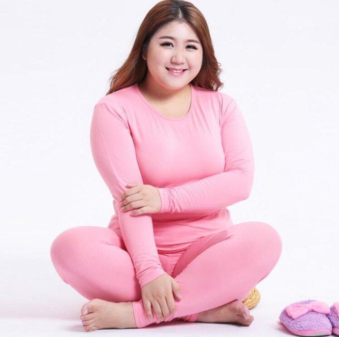 新款加肥加大尺碼2XL-6XL碼 秋衣秋褲套裝 保暖內衣100公斤 140公斤 睡衣—莎芭