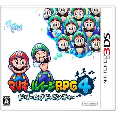 3DS 瑪利歐與路易吉 RPG 4 (瑪莉歐與路易4) 純日版 (3DS台灣中文機不能玩) 二手品