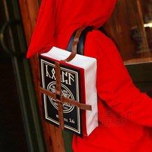 【紫色風鈴】周邊男女背包巫師魔法師單肩斜挎包FFF團道具包 帆布材質
