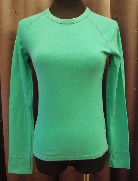 大降價!近全新 H&M DIVIDED 年輕風格綠色棉質長袖上衣,清新休閒風!低價起標無底價!本商品免運費!