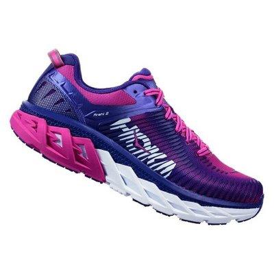 【 憲憲之家 】5 折優惠 HOKA ONEONE ARAHI 2 女鞋 路跑鞋 HO1019276LFCH (藍/紫)
